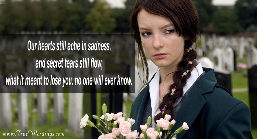 Loss of a Sister Quotes and Sayings, Miss You Sister Death Quotes