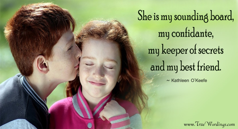 Brother And Sister Love Quotes Mesmerizing Feeling Proud Sister Quotes From Loving Brother & Sister