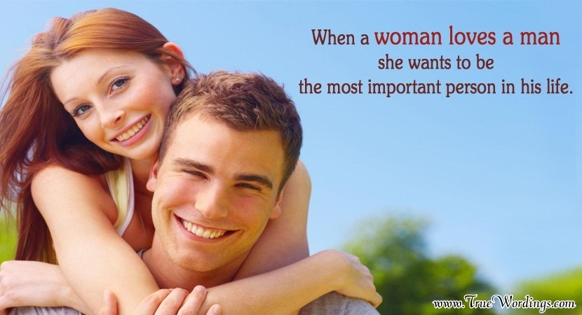 Woman and Man Quotes