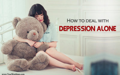 How to deal with depression alone