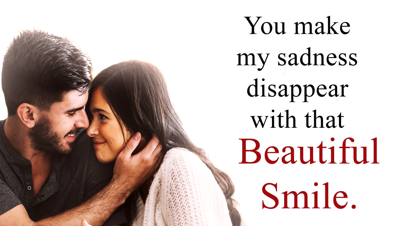 Emotional Cute Sayings About Her Smile