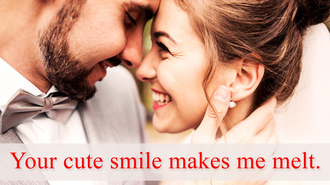 Love Quotes about Her Cute Smile
