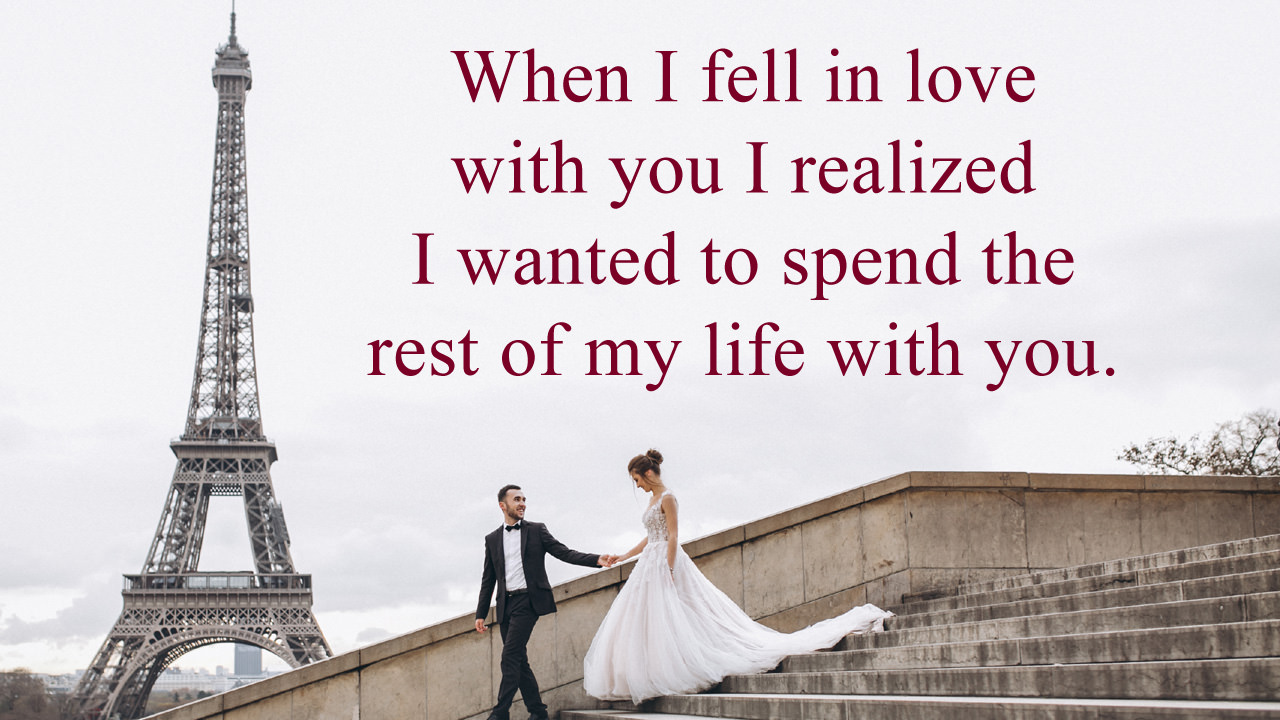 Rest of My Life with You Quotes