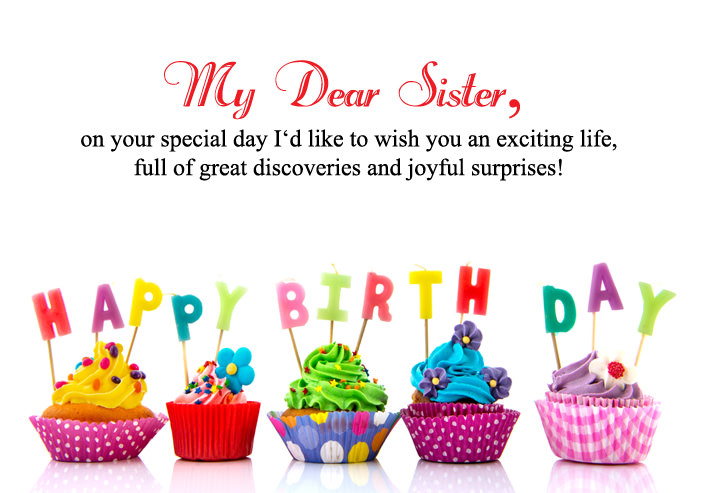 25 Inspirational Birthday Messages for Sister - Best Love ...