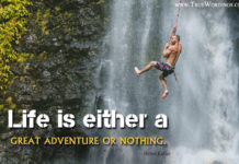 Life Adventure Quotes and Sayings