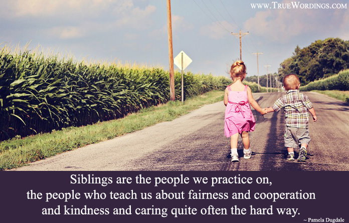 cute quotes about siblings