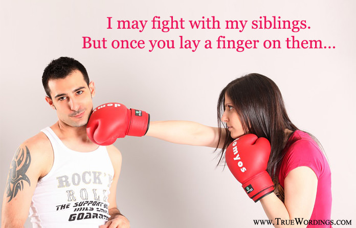 siblings fight photo