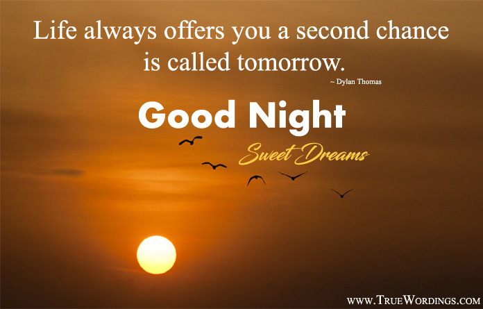 Inspirational Good Night Images With Quotes Sleep Better After