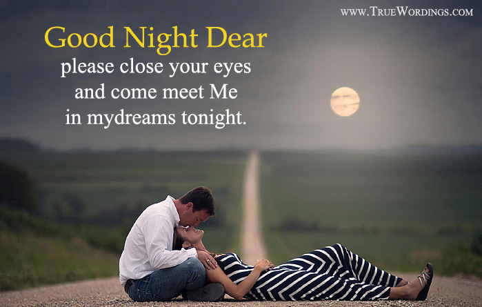 Romantic Good Night Quotes & Special Love Images for Lovers (Her/Him)