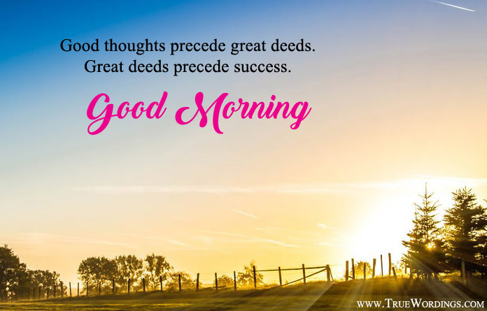 Inspirational good morning images positive thoughts quotes sayings good morning quotes good morning images in english inspirational good morning messages m4hsunfo