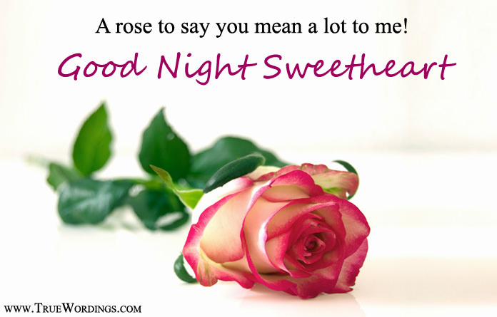 Romantic Good Night Quotes Special Love Images For Lovers Herhim