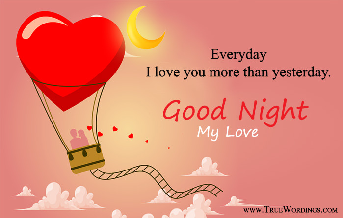 Romantic Good Night Quotes Special Love Images For Lovers Her Him