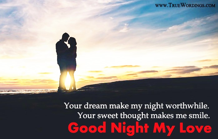 Romantic Good Night Quotes & Special Love Images for Lovers