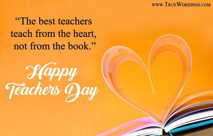 Happy International Teachers Day