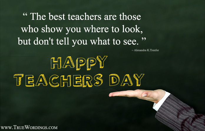 Quotes for Best Teacher