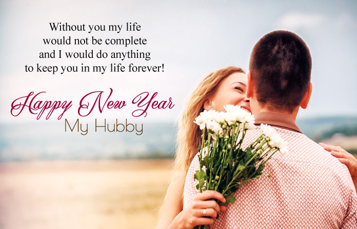 cute romantic new year quotes for husband