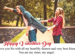 Happy Valentines Day Sister