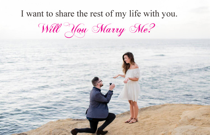 Marriage Proposal Quotes For Lover With Will You Marry Me Images