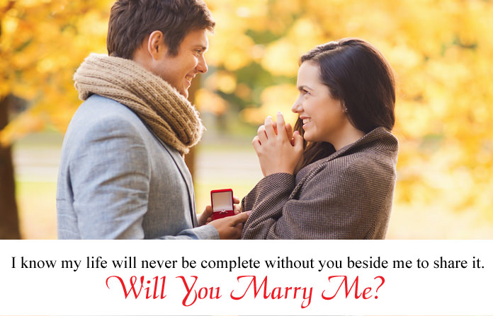 best proposal to a girl