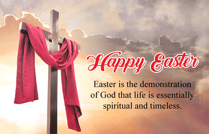 Happy easter sunday images with quotes hd greetings wallpaper pics easter msg with cross images happy easter quotes m4hsunfo