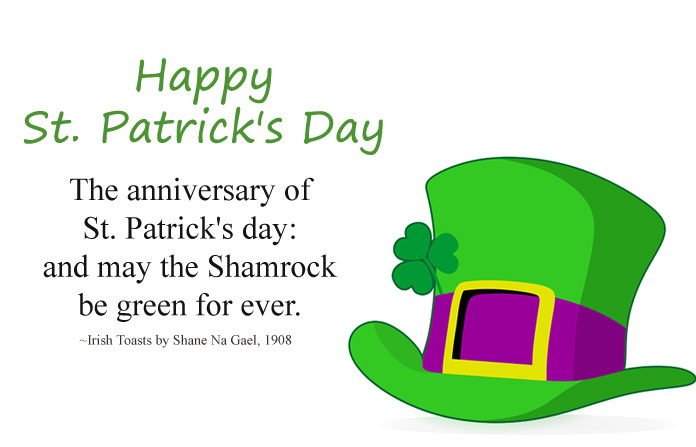 Happy St Patrick's Day Wishes