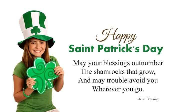 St Patricks Day Blessings Greetings
