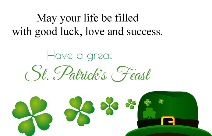St Patrick's Day Status Pic