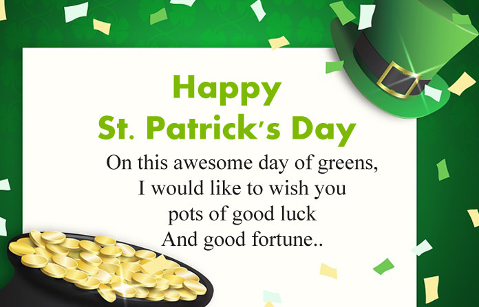 St. Patrick's Day Messages