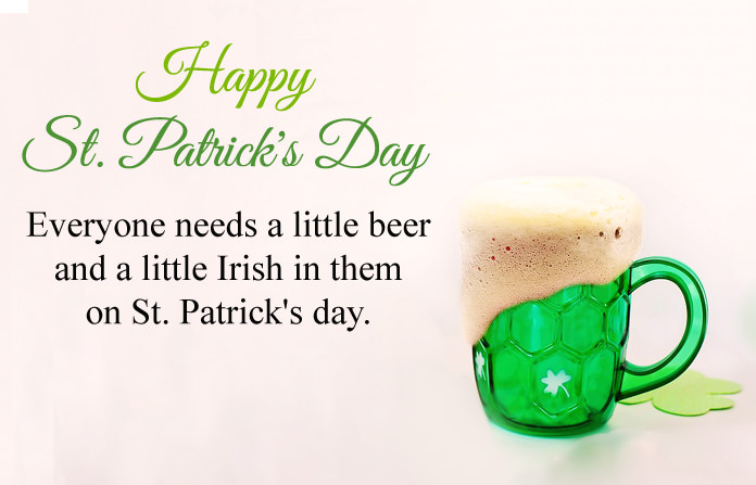 St. Patricks Day Msg