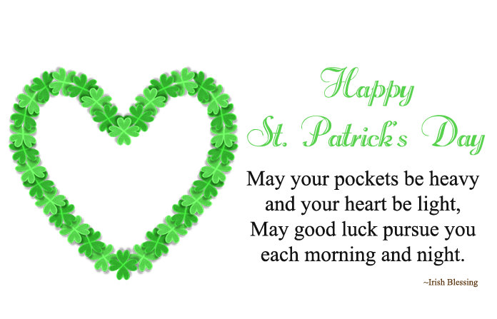 St. Patrick's Day Sayings Images