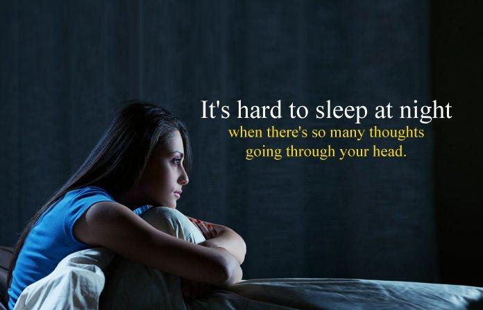 Sad Sleepless Night Quotes, No Sleep in Nights Status & Sayings