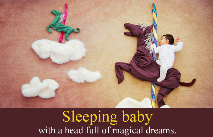 Sleeping Baby Quotes, Funny & Cute Smiling Baby Angel Sayings
