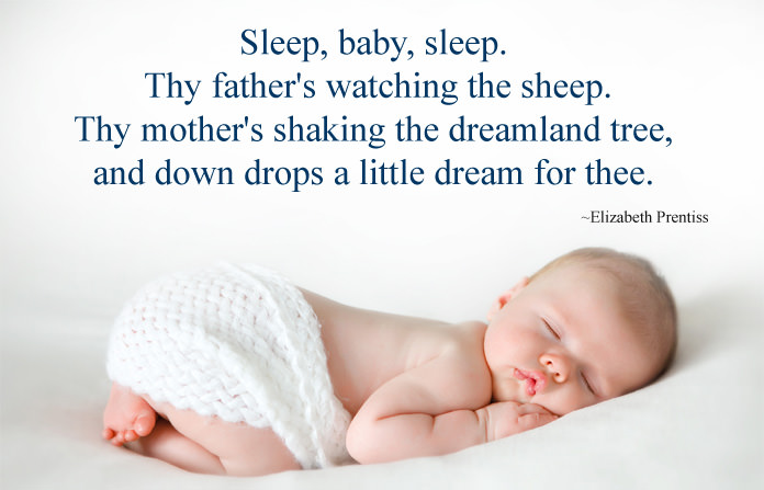 Sleeping baby quotes