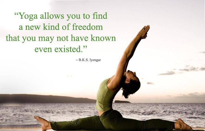 BKS Iyengar Yoga Quotes