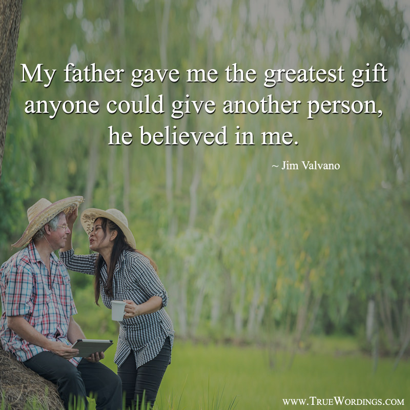 Father Believe Quote