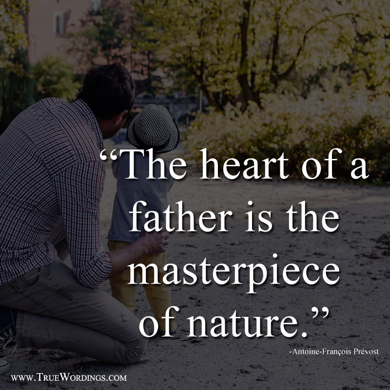 Father Heart is Masterpiece of Nature