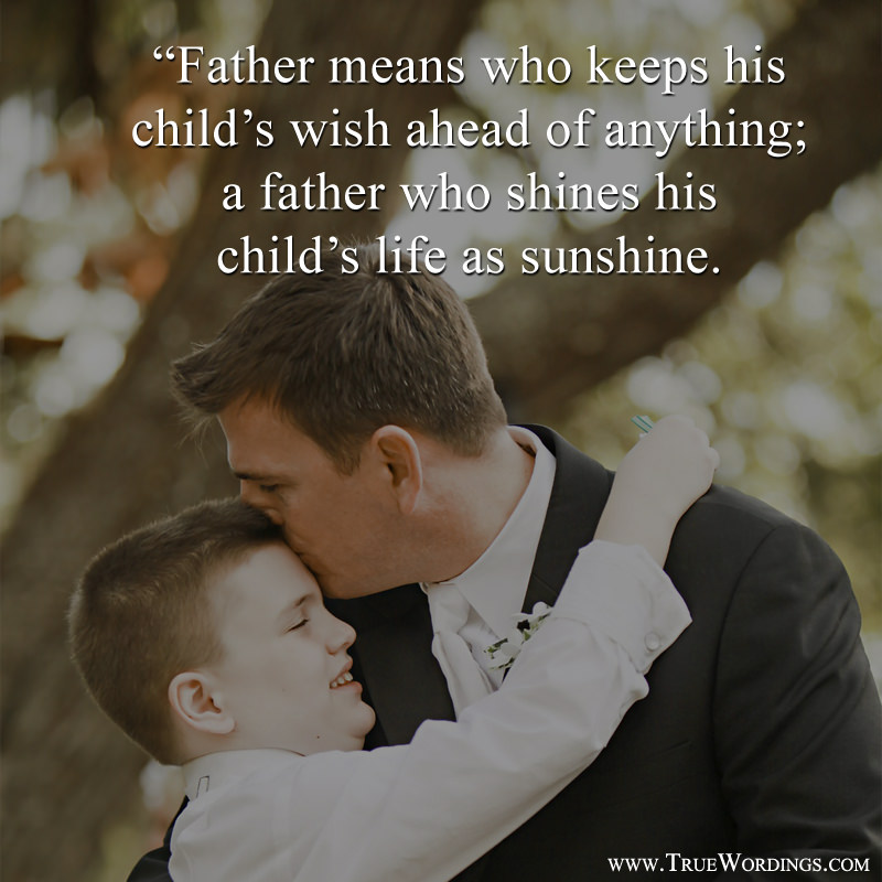 Inspirational Sayings Images about Dad