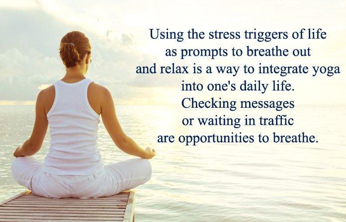Inspirational Yoga Thoughts