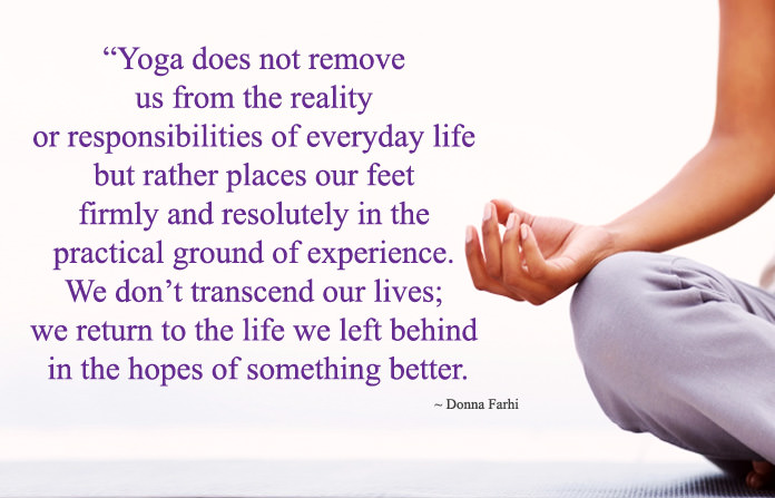 Meaning of Yoga Thoughts Messages