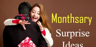 Monthsary Surprise Ideas