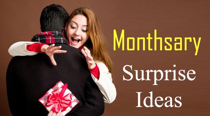 Monthsary Surprise Ideas