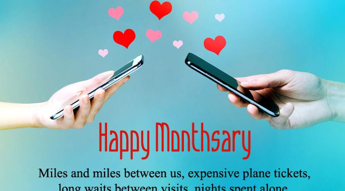 Long Distance Monthsary Messages