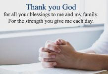 Thank You God Quotes for All Blessings