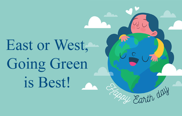 Green Slogan for Earth Day