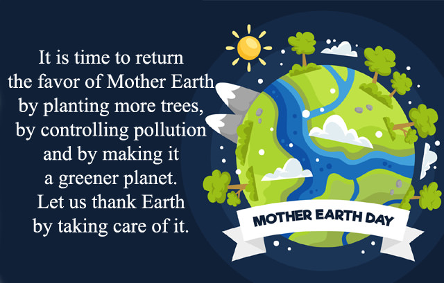 Mother Earth Day Messages Quotes