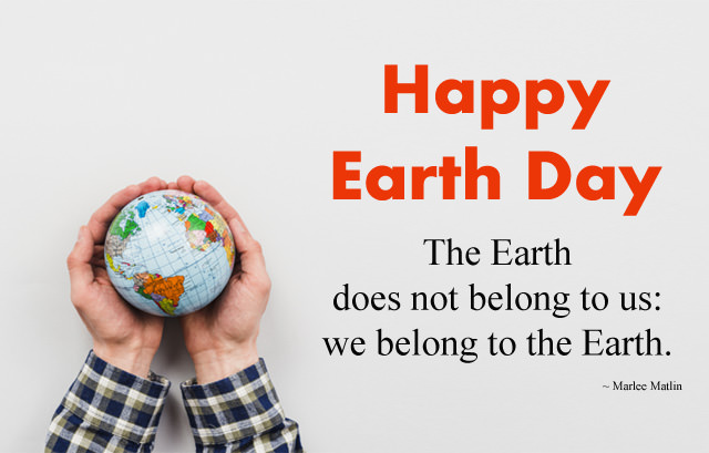 We Belong to the Earth