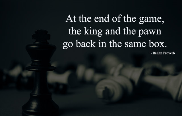 Caption Status about Chess Game and King