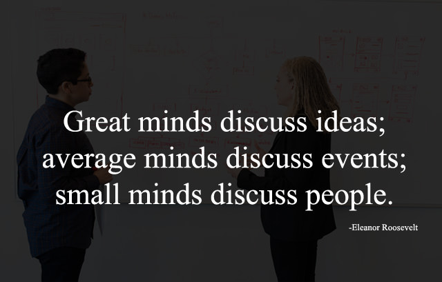 Great Minds, Ideas and People