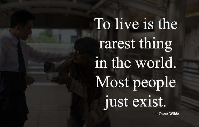 Most People Just Exist