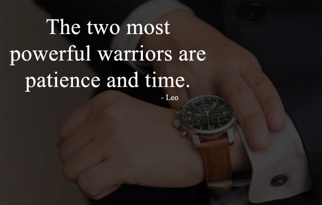 Powerful Warriors - Patience and Time